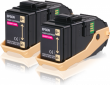 Genuine Magenta Epson S050607 Toner Cartridge Twin Pack - (C13S050607)