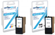 Compatible High Capacity Lexmark 44XL / 43XL Black & Tri-Colour Ink Multipack - (018Y0144E & 018Y0143E)