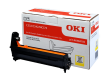 Genuine Oki 46484105 Yellow Image Drum (46484105 Laser Printer Imaging Unit)