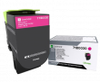 Genuine Magenta Lexmark 71B0030 Toner Cartridge (71B0030 Laser Printer Toner)
