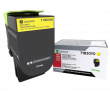 Genuine Yellow Lexmark 71B0040 Toner Cartridge (71B0040 Laser Printer Toner)