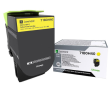 Genuine High Capacity Yellow Lexmark 71B0H40 Toner Cartridge (71B0H40 Laser Printer Toner)