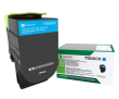 Lexmark 71B20C0 Cyan Return Program Toner Cartridge