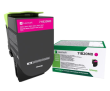 Genuine Magenta Return Program Lexmark 71B20M0 Toner Cartridge (71B20M0 Laser Printer Toner)