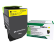 Genuine Yellow Return Program Lexmark 71B20Y0 Toner Cartridge (71B20Y0 Laser Printer Toner)