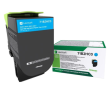 Lexmark 71B2HC0 High Capacity Cyan Return Program Toner Cartridge