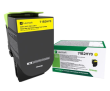 Lexmark 71B2HY0 High Capacity Yellow Return Program Toner Cartridge