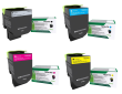 Lexmark 71B2 Extra High Capacity Black & High Capacity 3 Colour Return Program Toner Cartridge Multipack