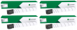 Lexmark 76C00 4 Colour Toner Cartridge Multipack (76C00K0/C0/M0/Y0)