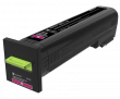Lexmark 82K2XM0 Extra High Capacity Magenta Return Program Toner Cartridge