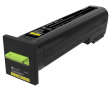 Lexmark 82K2XY0 Extra High Capacity Yellow Return Program Toner Cartridge