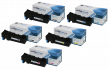 Compatible Epson S05061 5 High Capacity Colour Toner Cartridge Multipack (C13S050611/12/13/14)