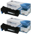 Compatible High Capacity Black Epson S050631 Toner Cartridge Twin Pack - (Replaces Epson C13S050631)