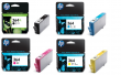 Genuine Black HP 364XL / 3 Colour HP 364 Ink Cartridge Multipack (C2P80AE)