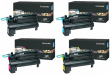 Lexmark C792X2 Extra High Capacity 4 Colour Toner Cartridge Multipack - (C792X2KG/CG/MG/YG)