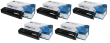 Compatible HP 201X High Capacity Colour Toner Cartridge Multipack - (2x CF400X, CF401X, CF403X & CF402X)