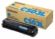 Genuine Cyan Samsung C503 Toner Cartridge (CLT-C503L/ELS)