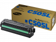 Genuine Cyan Samsung C505 Toner Cartridge (CLT-C505L/ELS)