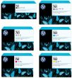 Genuine 6 Colour HP 761 Ink Cartridge Multipack - (CM997A/CM992A/CM993A/CM994A/ CM995A/CM996A)