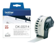 Brother DK-22214 Black On White 12mm x 30.48m Continuous Tape Paper