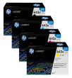 Genuine 4 Colour HP 643A Toner Cartridge Multipack - (Q5950A/Q5951A/Q5952A/Q5953A)