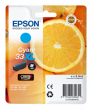 Genuine Cyan Epson 33XL High Capacity Ink Cartridge - (T3362 Oranges Inkjet Printer Cartridge)