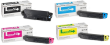 Genuine 4 Colour Kyocera TK-5140 Toner Cartridge Multipack (TK-5140K/C/M/Y)