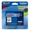 Brother TZe-141 Black On Clear Laminated P-Touch Labelling Tape 18mm x 8m