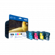 Brother LC1100 4 Colour Ink Cartridge Multipack (LC-1100BK/C/M/Y)