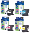 Genuine Light User Brother LC221 4 Colour Ink Cartridge Multipack (LC221BK/LC221C/LC221M/LC221Y)