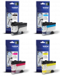 Genuine Brother 4 Colour LC3237 Ink Cartridge Multipack (LC3237BK/C/M/Y)