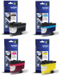 Brother LC3239XL High Capacity 4 Colour Ink Cartridge Multipack (LC-3239XLBK, LC-3239XLC, LC-3239XLM & LC-3239XLY)