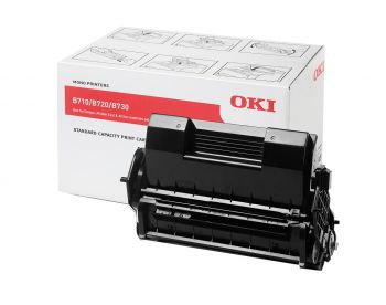 OKI 01279001 Black Toner Cartridge (1279001)