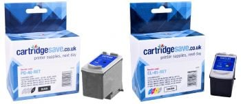Compatible Canon PG-40 / CL-41 Black & Tri-Colour Ink Cartridge Multipack