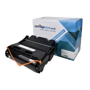 Compatible Lexmark 12A7462 High Capacity Black Toner Cartridge (0012A7462)