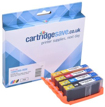 Compatible Canon CLI-581XXL Extra High Capacity 4 Colour Ink Cartridge Multipack - (1998C005)