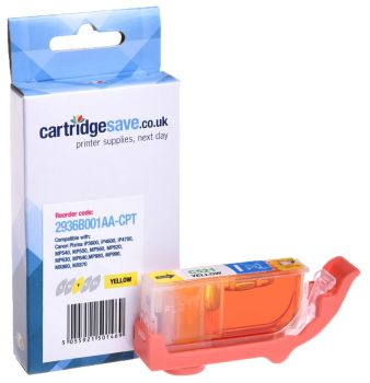 Compatible Canon CLI-521Y Yellow Ink Cartridge - (2936B001AA)