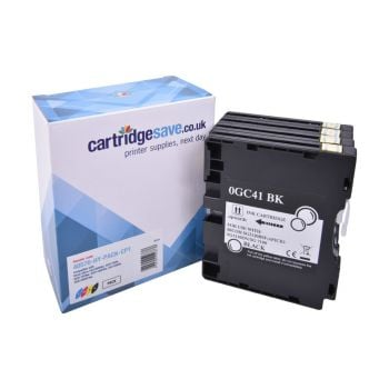 Compatible Ricoh GC41 Standard Capacity 4 Colour Gel Ink Cartridge Multipack