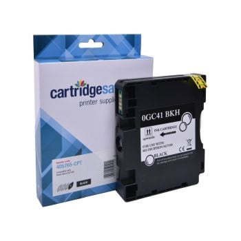 Compatible Ricoh GC41 Light User Black Gel Ink Cartridge - (405765)