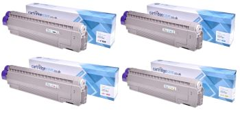 Compatible Oki 440592 4 Colour Toner Cartridge Multipack