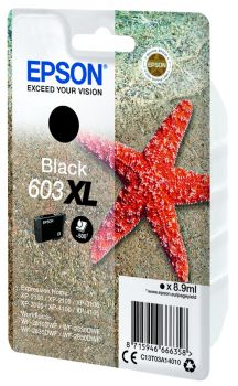Epson 603XL High Capacity Black Ink Cartridge - (C13T03A14010)