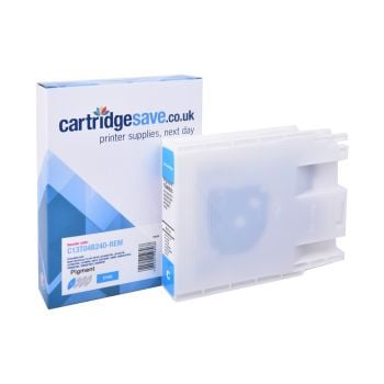 Compatible Epson T04B2 High Capacity Cyan Ink Cartridge - (C13T04B240)