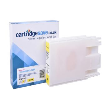 Compatible Epson T04B4 High Capacity Yellow Ink Cartridge - (C13T04B440)