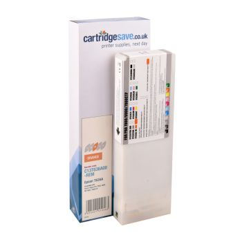 Compatible Epson T636A High Capacity Orange Ink Cartridge - (C13T636A00)