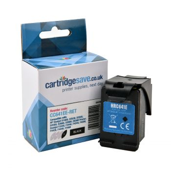 Compatible HP 300XL High Capacity Black Ink Cartridge - (CC641EE)