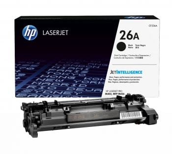 HP 26A Black Toner Cartridge - (CF226A)