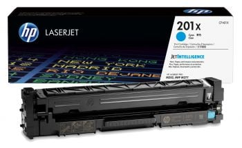 HP 201X High Capacity Cyan Toner Cartridge - (CF401X)