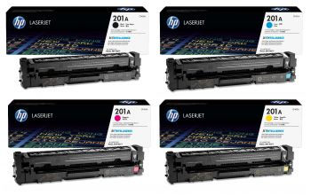 HP 201A 4 Colour Toner Cartridge Multipack