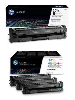 HP 201X High Capacity 4 Colour Toner Cartridge Multipack