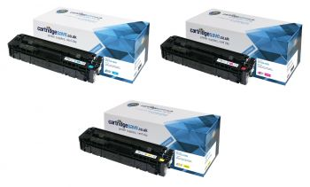 Compatible HP 203A 3 Colour Toner Cartridge Multipack